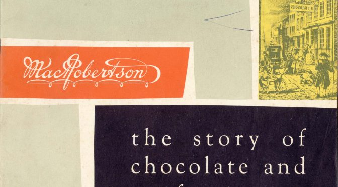 The story of chocolate and confectionery
